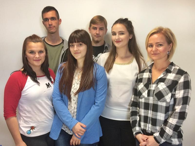 Młodzież z Erasmusa gościła w Ełku