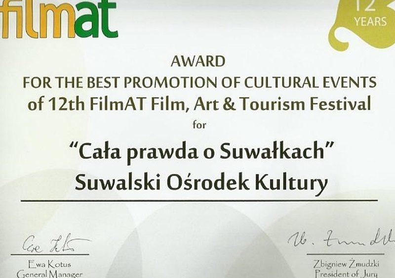 Film promujący SBF 2016 nagrodzony