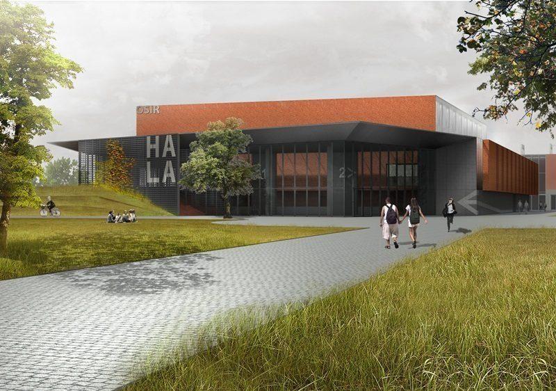 Umowa na budowę Suwałki Arena