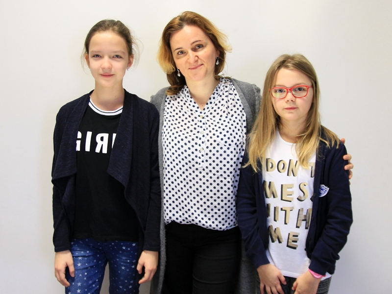 Przedstawiciele SP 3 w Ełku