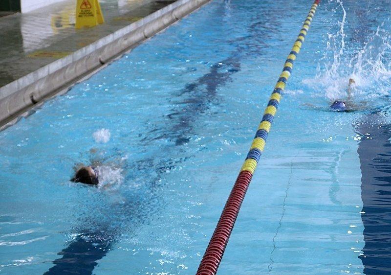 Najmłodsi pływacy