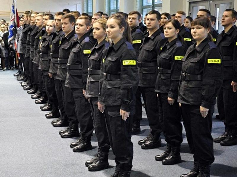 Nowy rok i nowi policjanci
