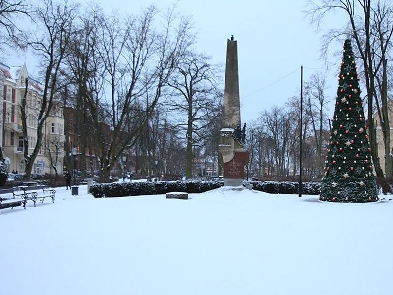 Miasto w zimowej odsłonie