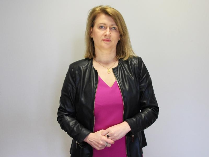 Małgorzata Pikus z Wydziału Edukacji UM w Ełku