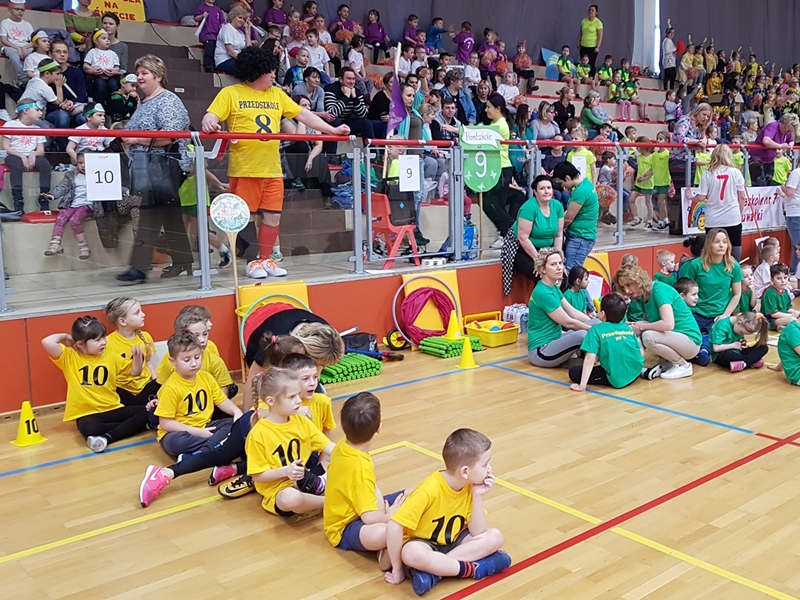 Olimpiada przedszkolna - rozmach międzynarodowy