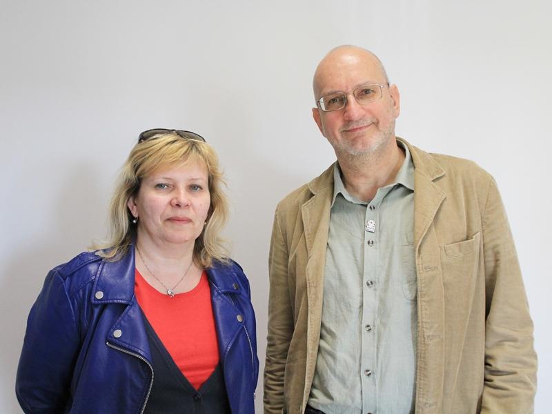 Iwona Olkowicz i Paweł Wilk