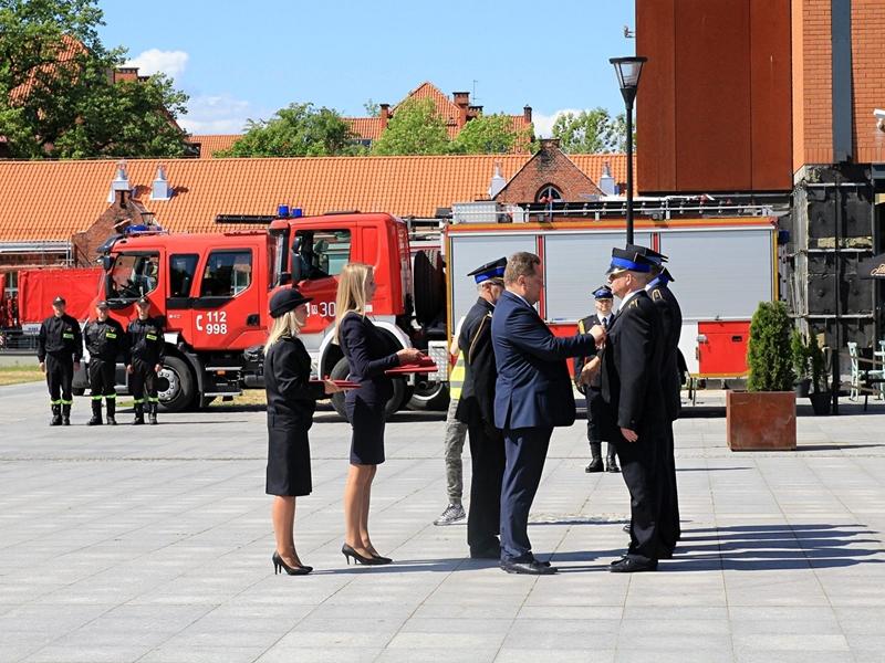 Świętowali strażacy