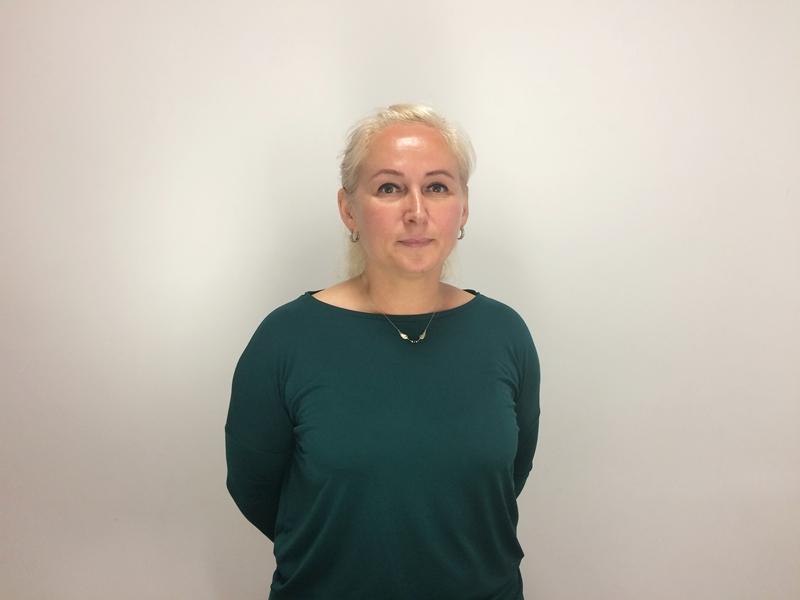 Anna Rudzińska z ełckiej Caritas