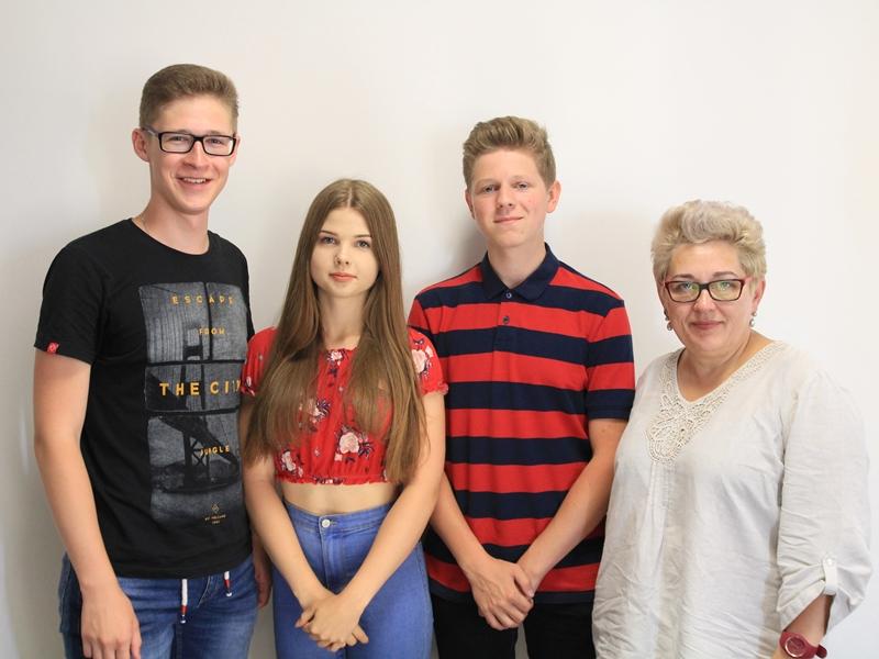 Przedstawiciele I Liceum Ogólnokształcącego w Ełku