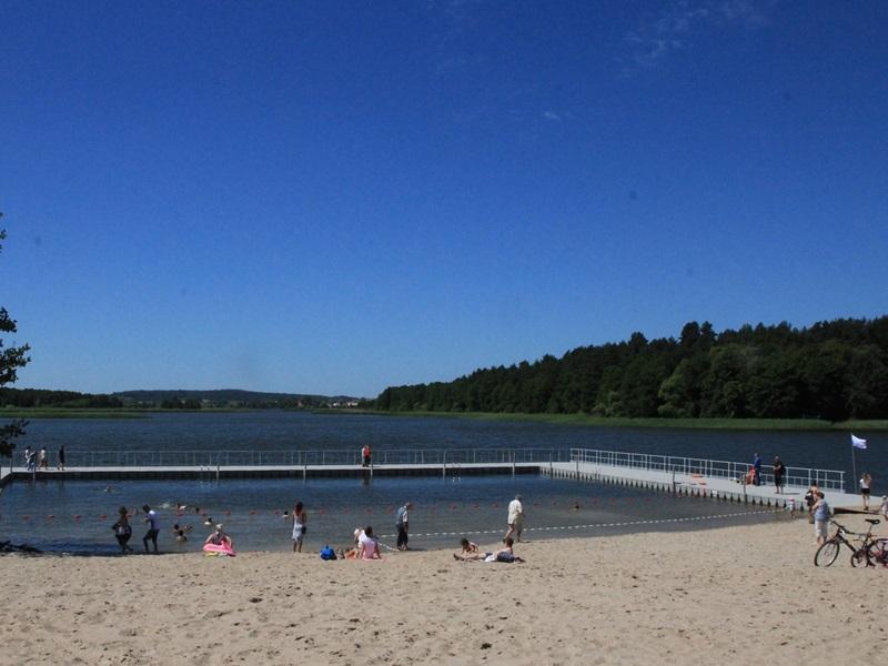 Jak nową plażę oceniają ełczanie?