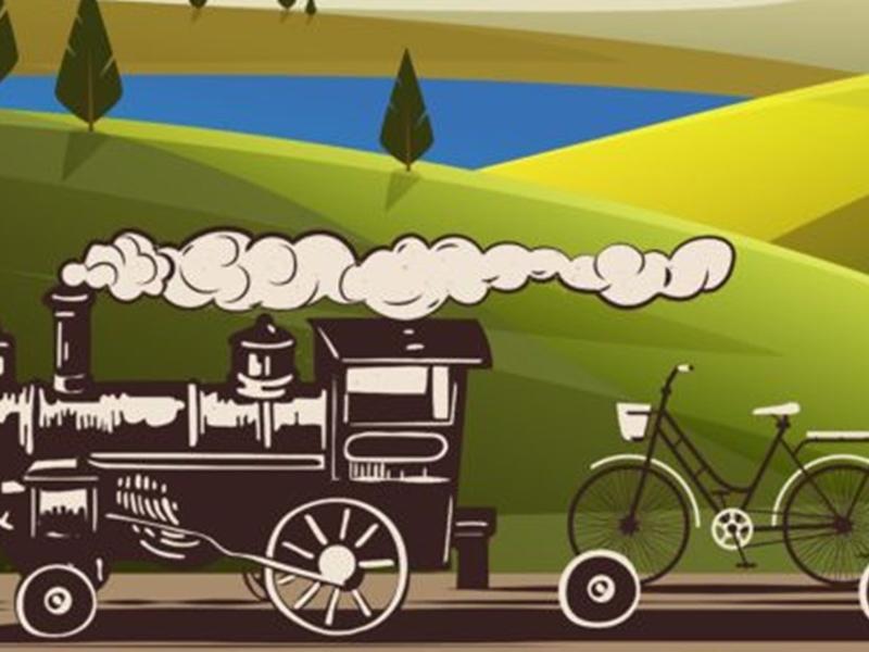 Kolej na rower – Rower na kolejkę