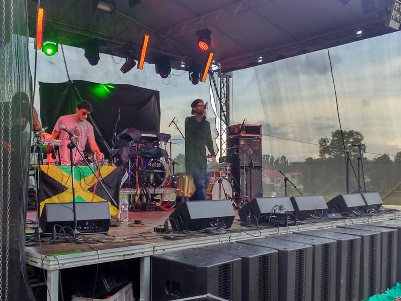 Reggae w Juchach