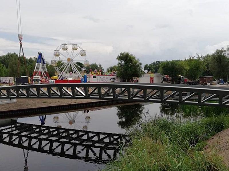 Mina przeciwpancerna przy rzece Ełk