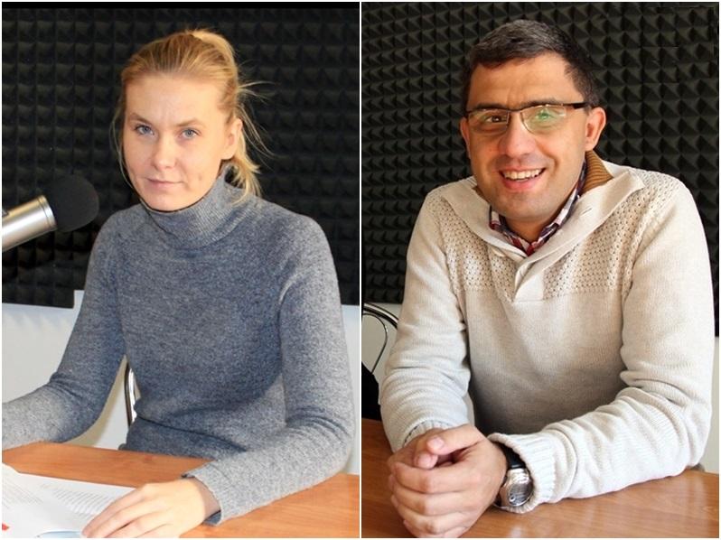 Magda Szumska i Rafał Żytyniec z MHE