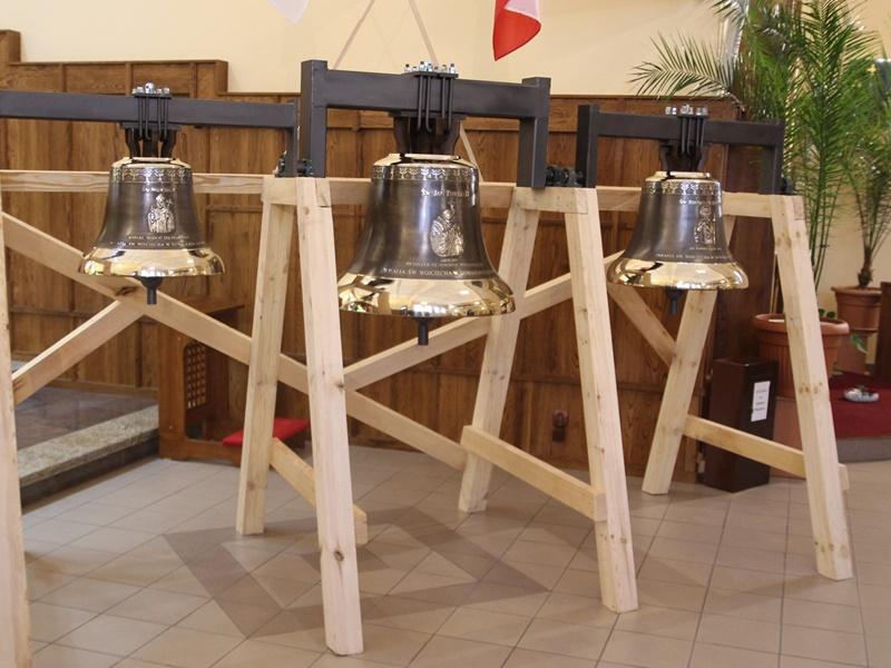 Dzwony w kościele św. Wojciecha
