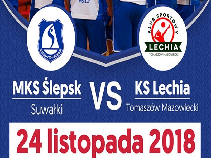MKS Ślepsk Suwałki - KS Lechia Tomaszów Mazowiecki