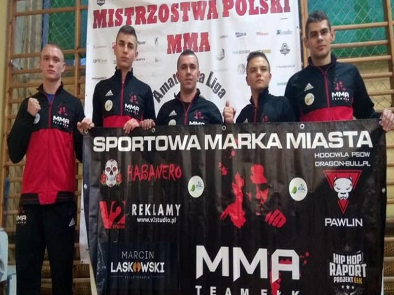 Kolejne medale MMA Team Ełk
