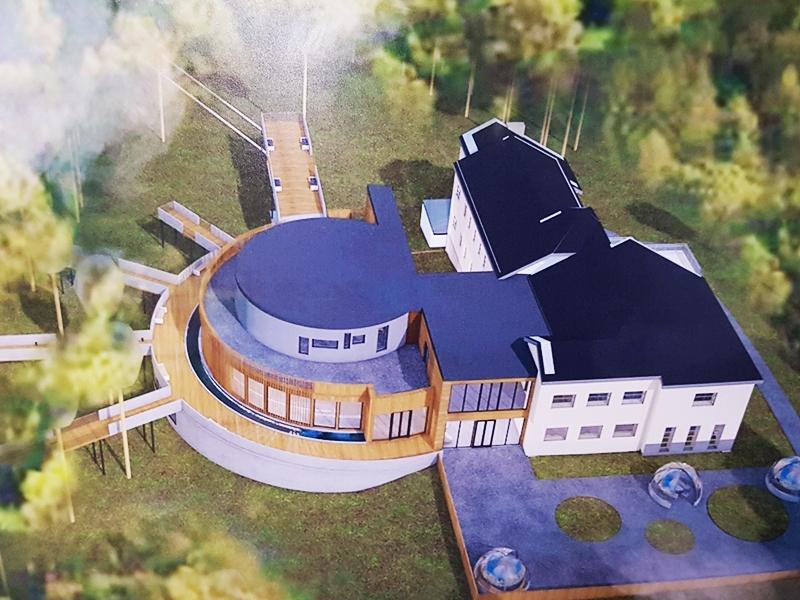 Pomysł na rozbudowę Muzeum Wigier