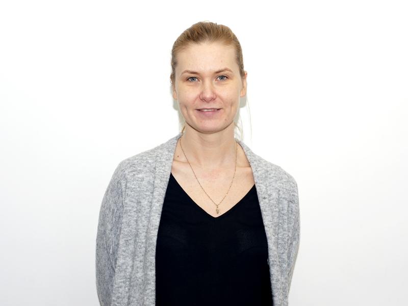 Magda Szumska z Muzeum Historycznego w Ełku