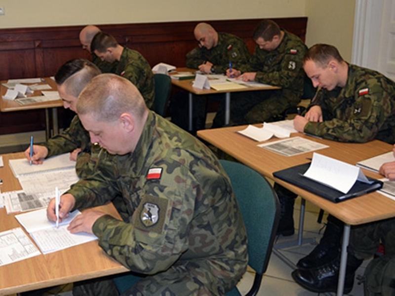 Żołnierze szlifują angielski
