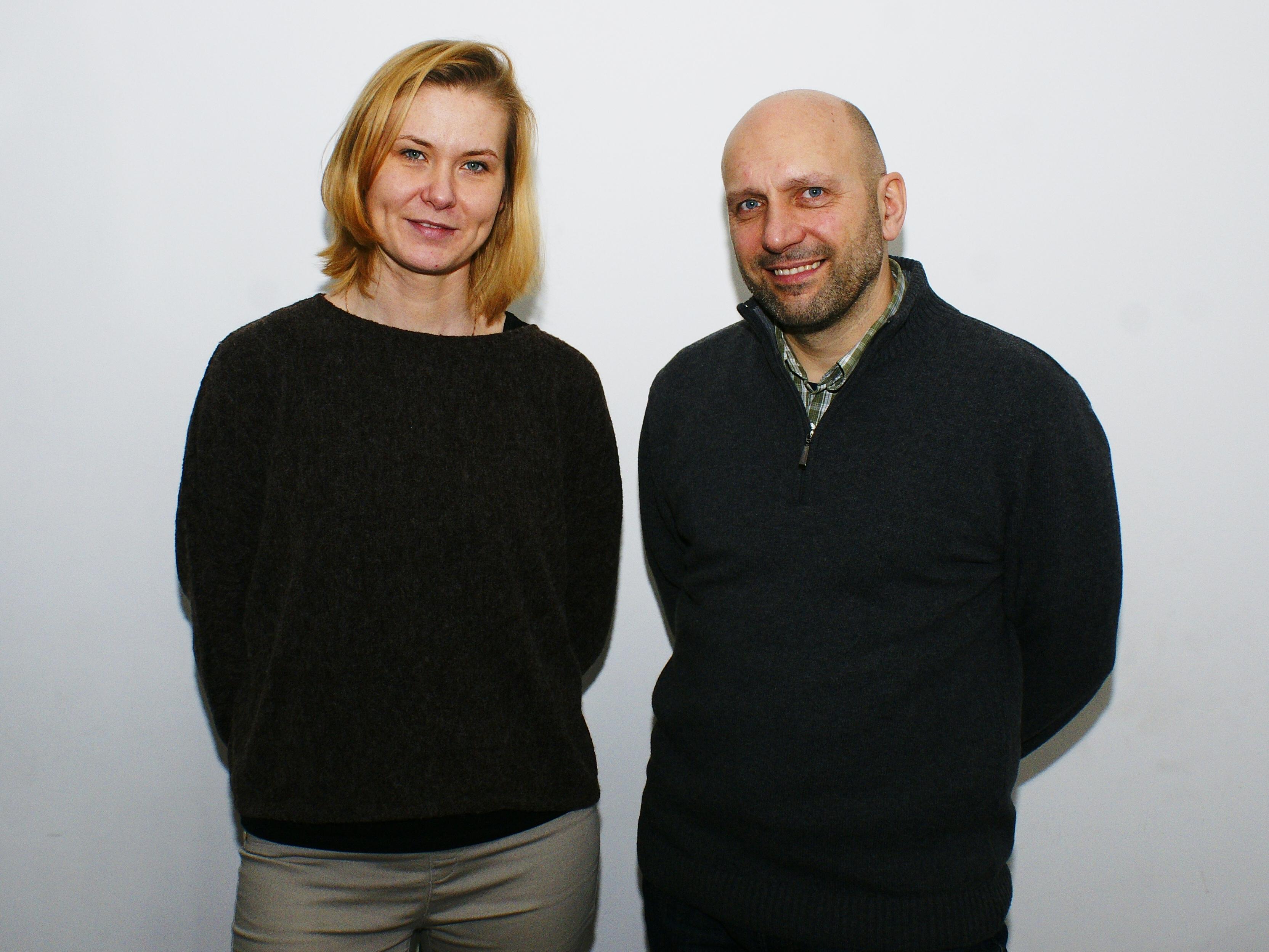 Magda Szumska i Dariusz Jurczak z MHE