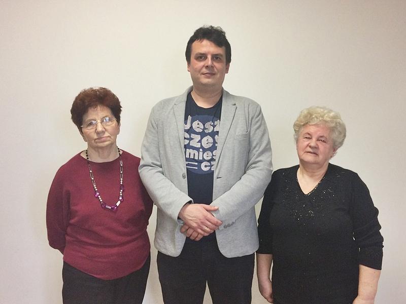 Leonarda Bobowicz, Daniel Szejda i Krystyna Jóźwiak
