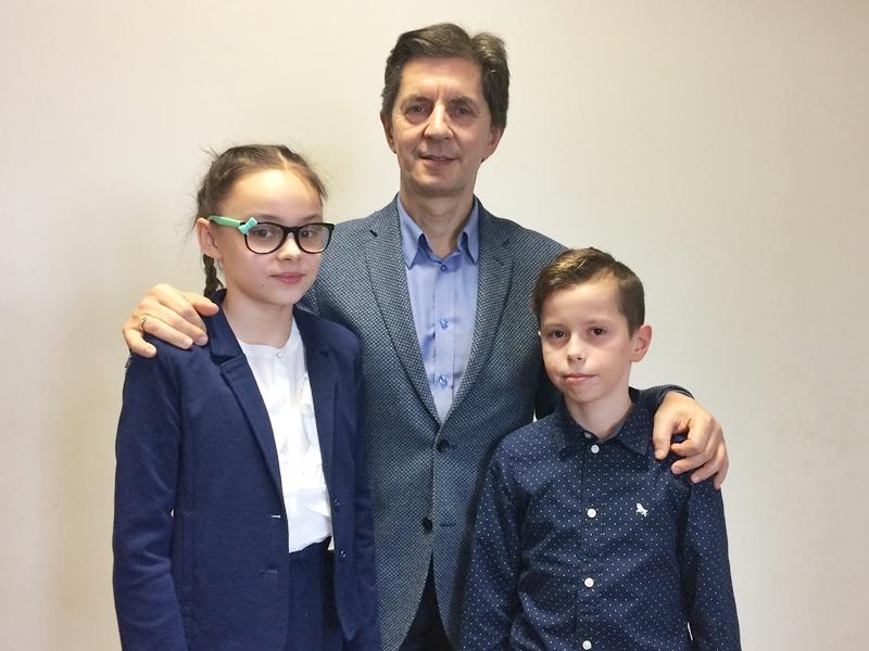Przedstawiciele Szkoły Podstawowej nr 2 w Ełku