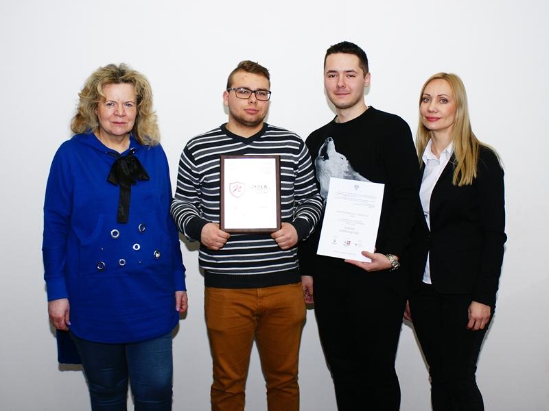 Przedstawiciele SP2 i ZSM-E w Ełku