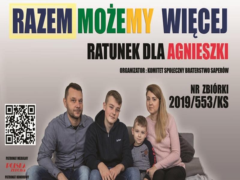 """""""Braterstwo Saperów"""" na ratunek Agnieszce"""