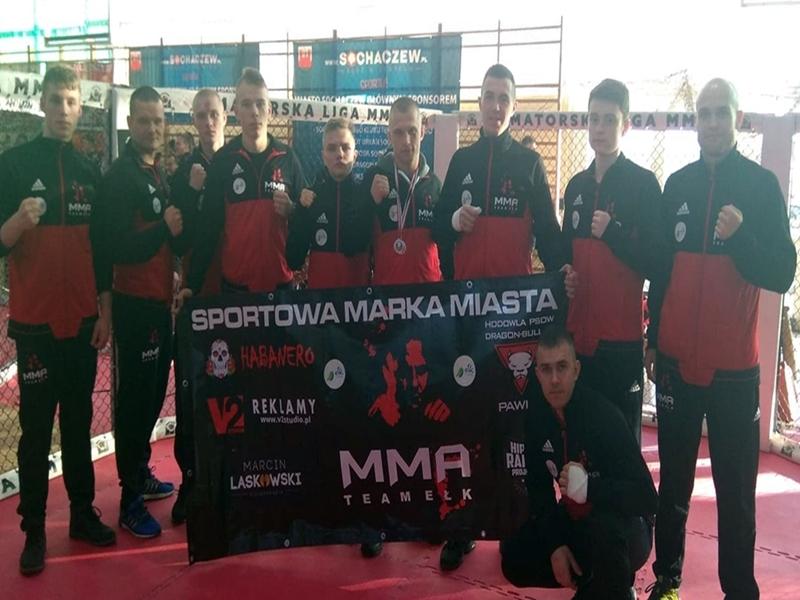 Kolejne medale dla MMA Team Ełk