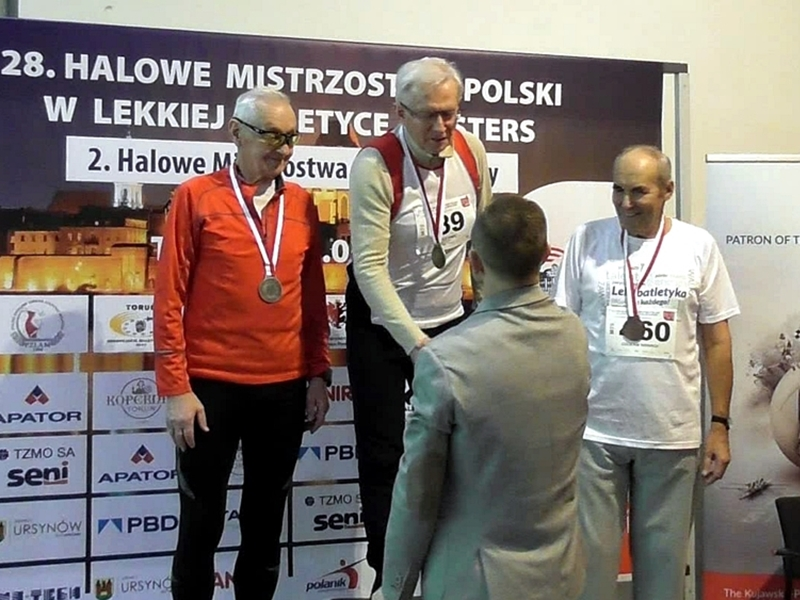 Komplet medali suwalskich mastersów
