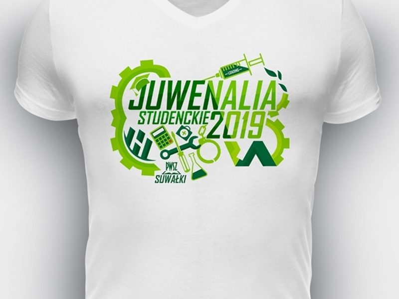 Znamy projekty koszulek na juwenalia