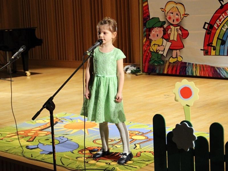 Przedszkolaki pokazały swój wokalny talent