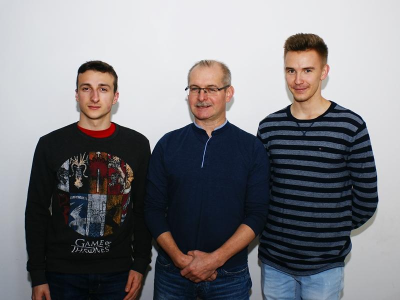 B. Rózio, P. Witaszczyk i B. Marciszewski