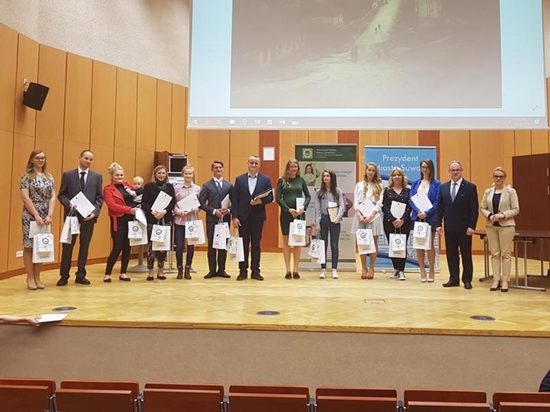 Nagrody za prace dyplomowe o Suwałkach