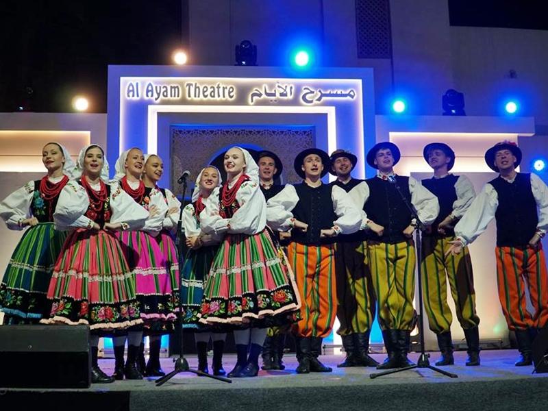 Polski folklor w Zjednoczonych Emiratach Arabskich