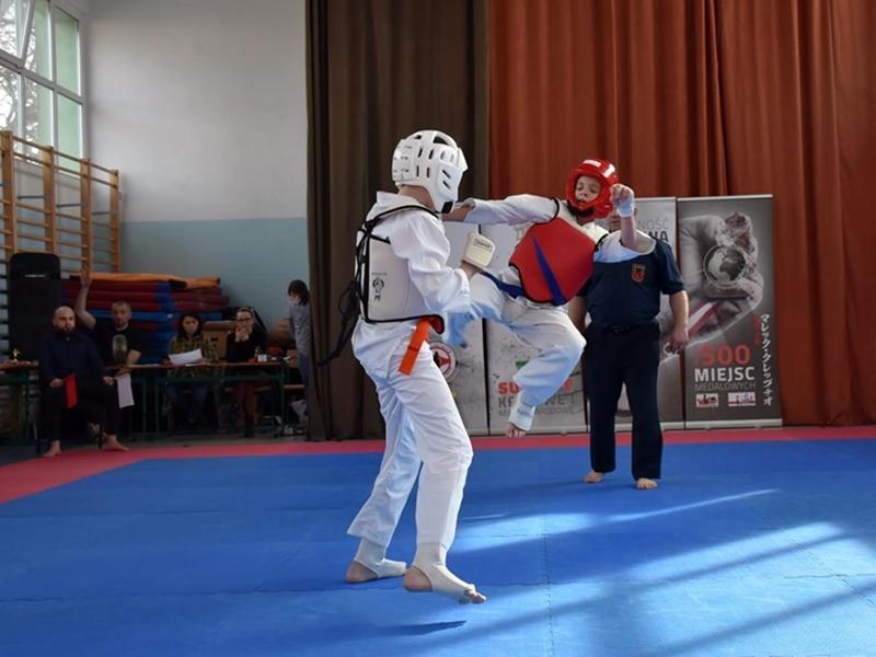 Rywalizowali karatecy