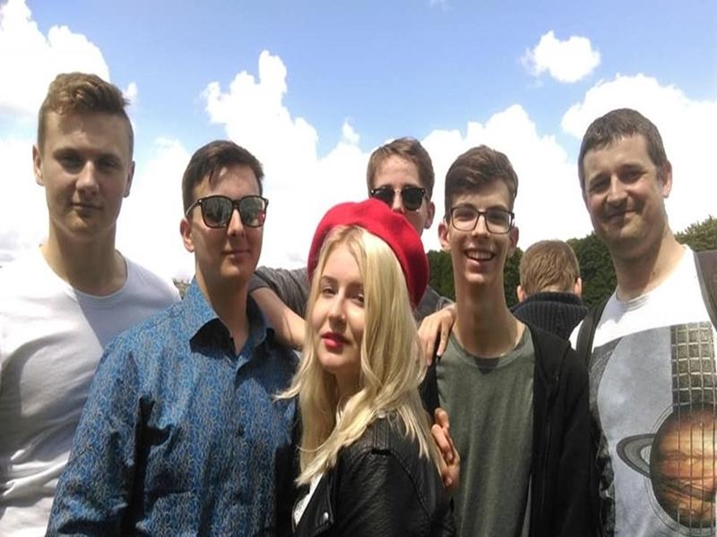 Wizyta suwalskiej młodzieży w Grande – Synthe