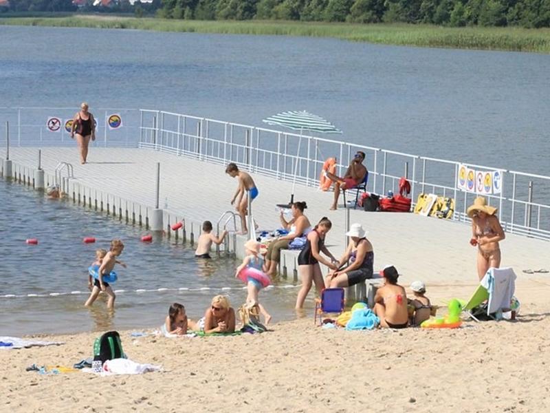 Ełckie jezioro najcieplejsze