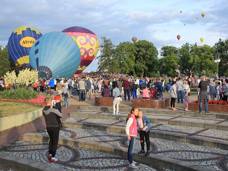 Ruszyły XII Mazurskie Zawody Balonowe w Ełku