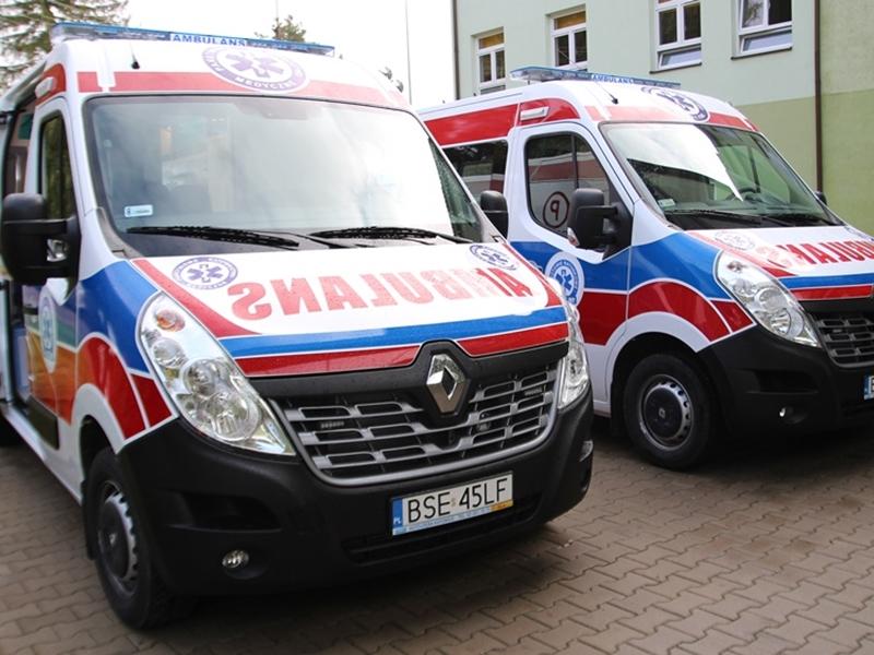 Szpital w Sejnach ma dwie nowe karetki