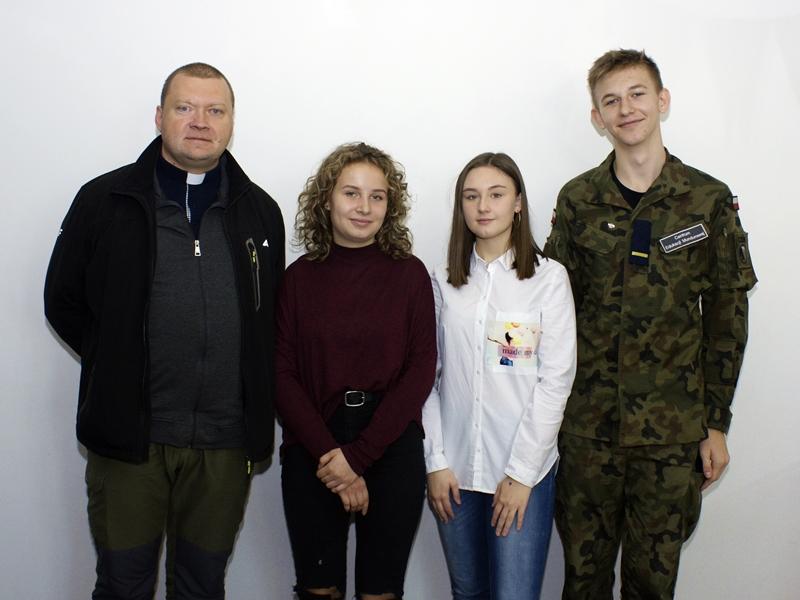 Przedstawiciele Oratorium św. Jana Bosko w Ełku