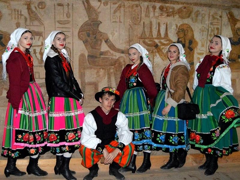 Zespół Pieśni i Tańca Ełk ponownie zawita w Egipcie