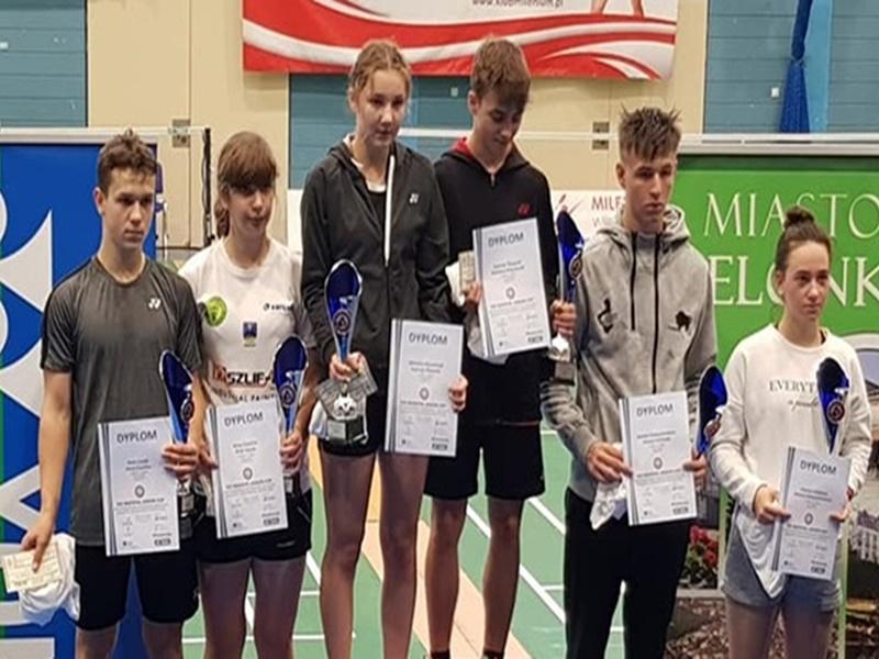 Suwalscy badmintoniści z medalami