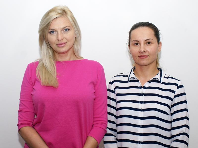 Róża Cimochowska i Ewelina Sigiel-Salamonowicz