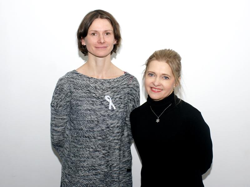 Anna Ciechalska i Ewa Drzymkowska