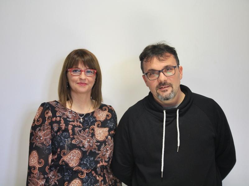 Patrycja Łapińska i Piotr Wysocki