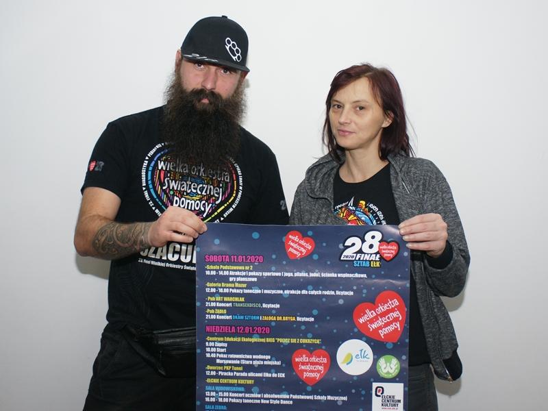 Robert Szutkowski i Emilia Borawska