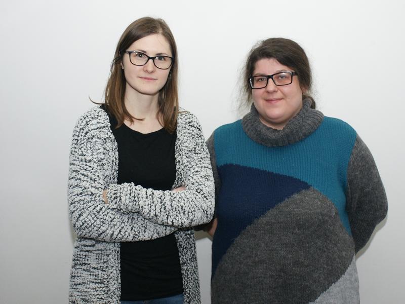 Marta Kosakowska i Małgorzata Gałczyńska z ECK