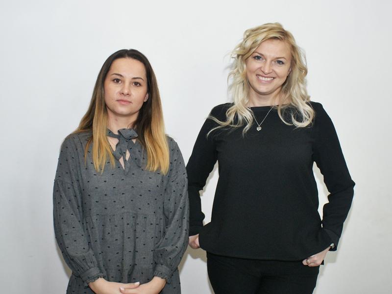 Ewelina Sigiel-Salamonowicz i Róża Cimochowska